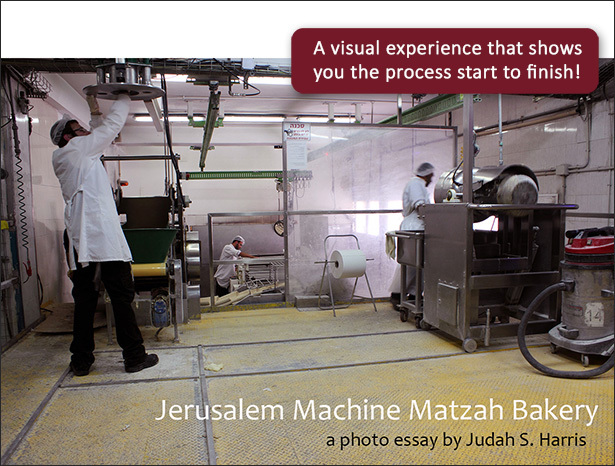 Graphic for Jerusalem Machine Matzah Bakery