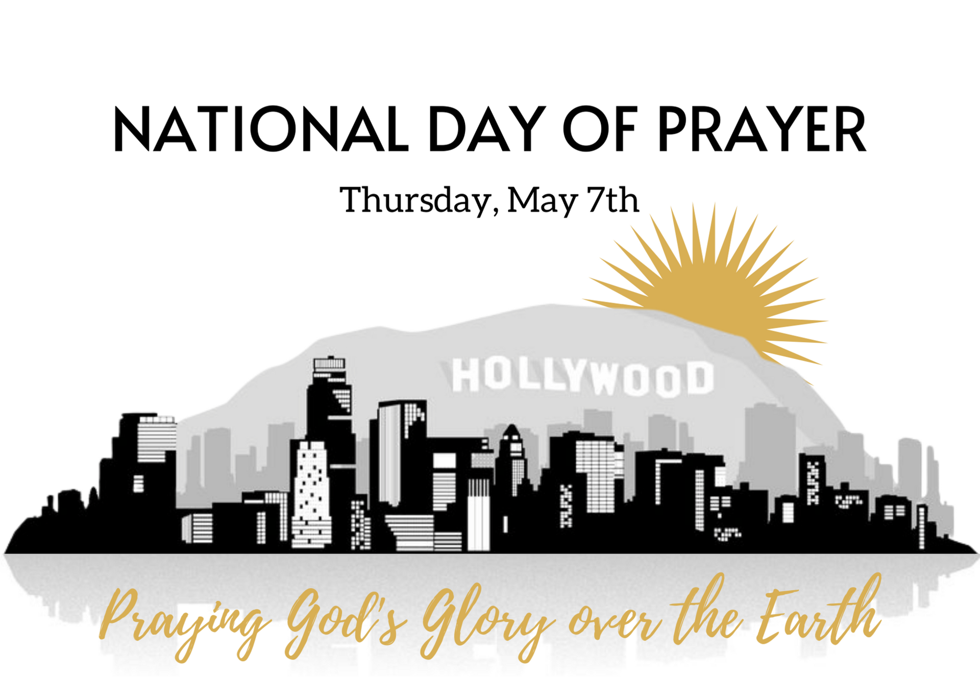 National Day of Prayer Thursday May 7 Praying God's Glory over the Earth
