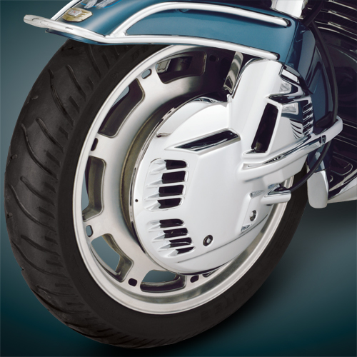 Chrome Rotor Cover For GL1500