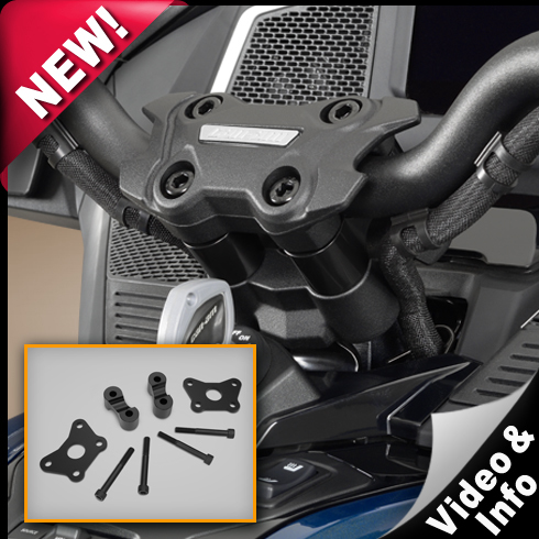 Handlebar Riser Kit For Spyder RT