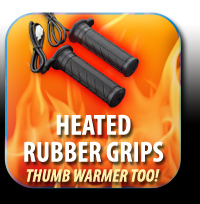 Heated Rubber Grips
