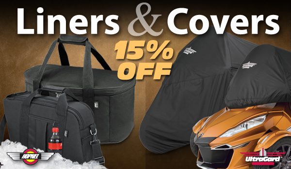 15% Off Liners And Covers