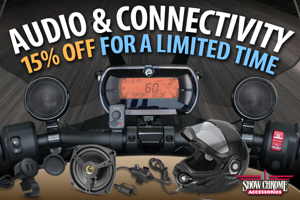 15% Off Audio And Connectivity