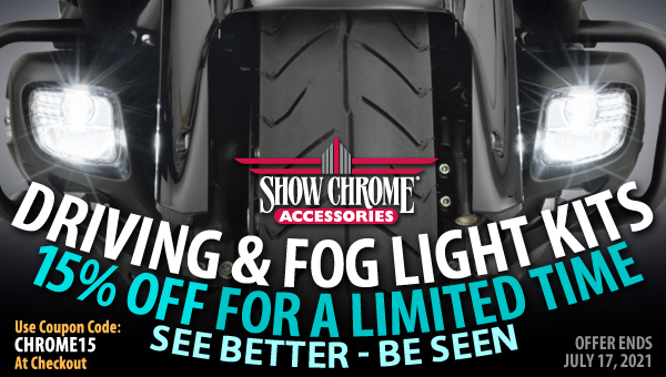 15% Off Driving And Fog Light Kits