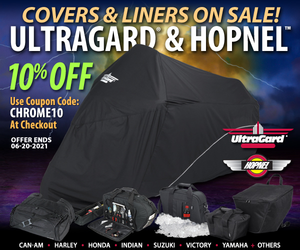 10% Off UltraGard covers And Hopnel Luggage Products