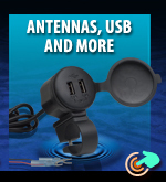 Antennas, USB Sockets And More