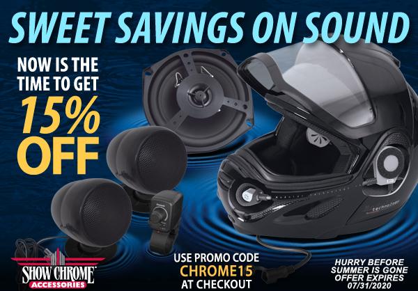15% Off Audio