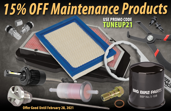 15% Off Maintenance Products