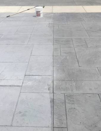 Decra-Seal Natural brings out the natural beauty of concrete