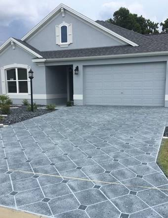 Stenciling Concrete Driveways Can Direct Business Your Way