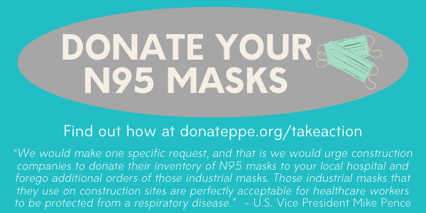 Donate Your N95 Mask