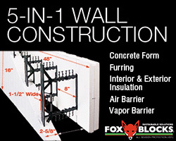Fox Blocks 5-in-1 Wall Construction
