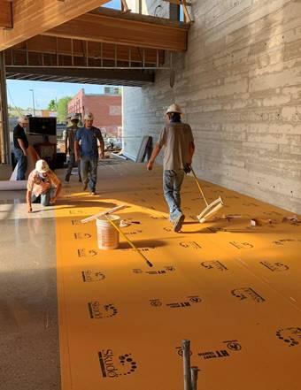 Commercial Protection System Helps Deliver Pristine Polished Floors