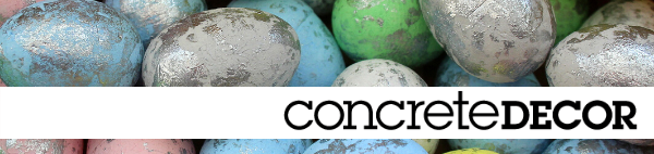 Concrete Decor Newsletter