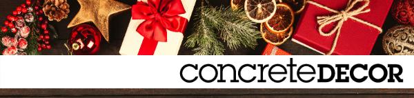 Concrete Decor Newsletter