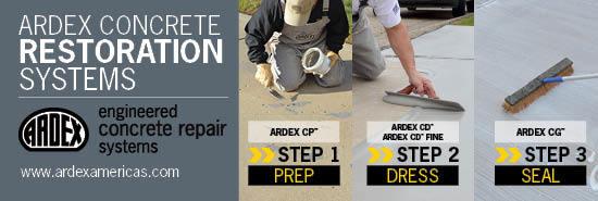 Ardex Concrete Restoration Systems