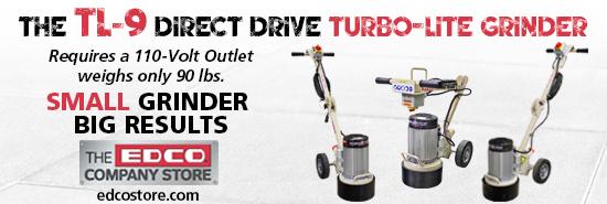 The TL-9 Direct Dirve Turbo-Lite Grinder