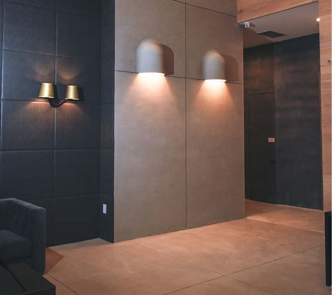 Monolithic, Minimalistic: Two Surfaces, One Canvas with Wall/Floor Concrete Finishes