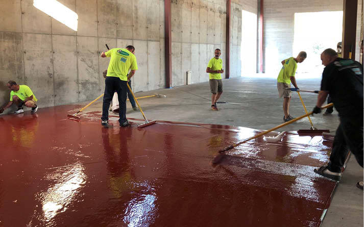 Roosters Brewery's Urethane Cement Floor Made to Last