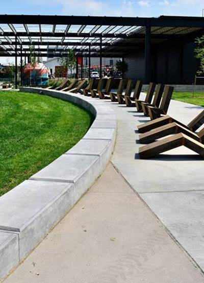 On the Up and Up: Decorative Concrete Finishes Aren't Just for Horizontal Slabs