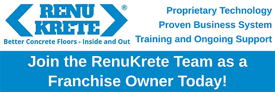 Join the RenuKrete Team as a Franchise Owner Today!