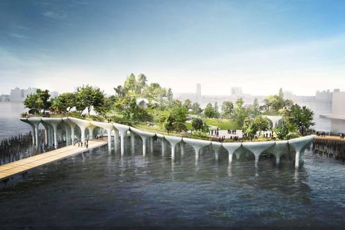 "Hycrete Chosen for ""Little Island"" – Pier 55 Renovation Project in New York City"