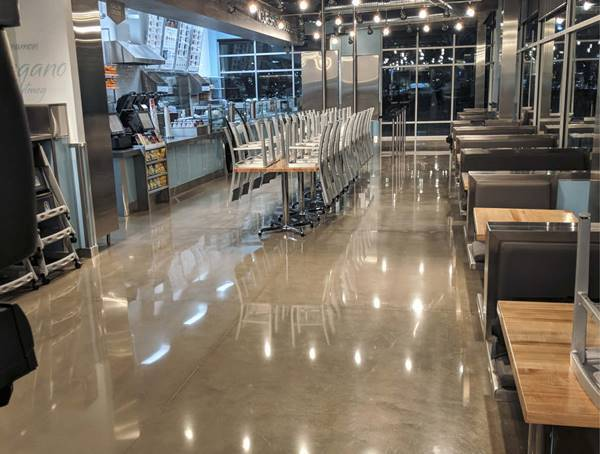 When it Comes to Polished Concrete, Maintenance is a Must to Ensure a Long Life