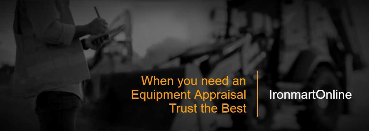 Equipment Appraisal |Equipment Valuations