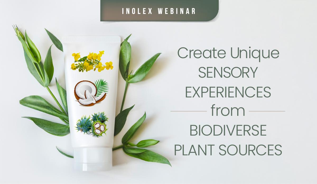 Create unique sensory experiences from biodiverse plant sources