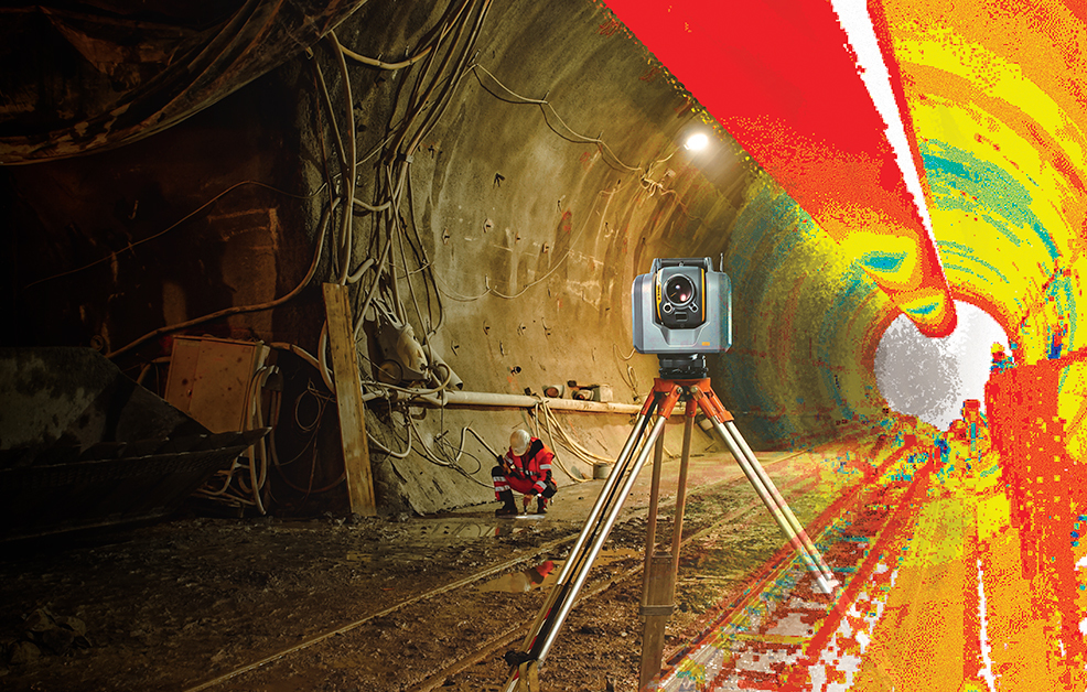 Tunnel Surveying, Improved: Digging into the Trimble SX10, Trimble Access, and TBC