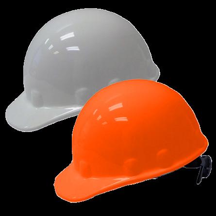 FIBRE-METAL FULL BRIM OR CAP STYLE RATCHET HARD HAT