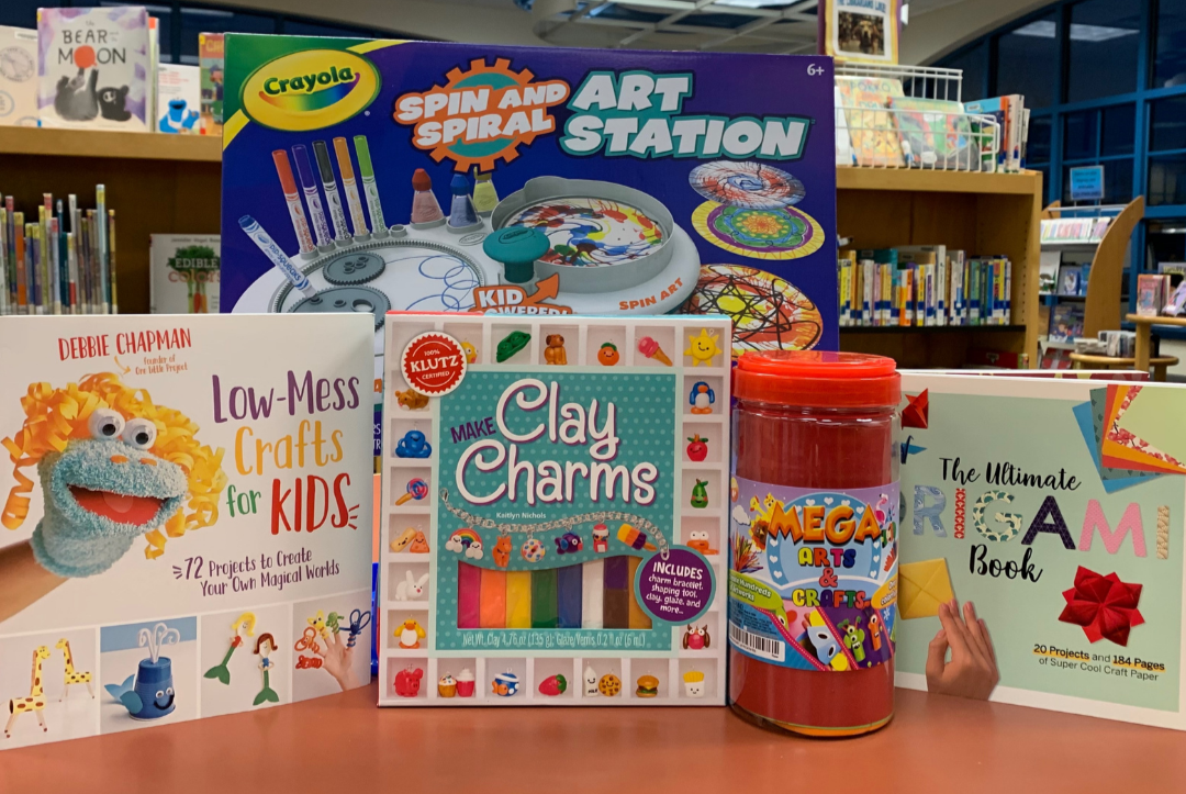 kids & teen winter reading challenge - arts & crafts prize