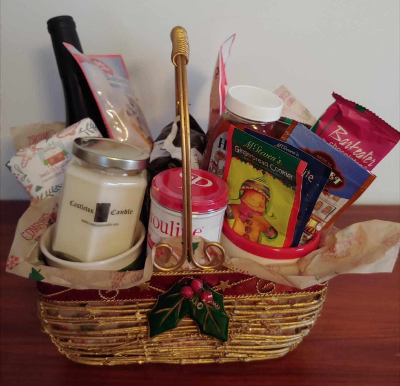 Holiday Raffle basket