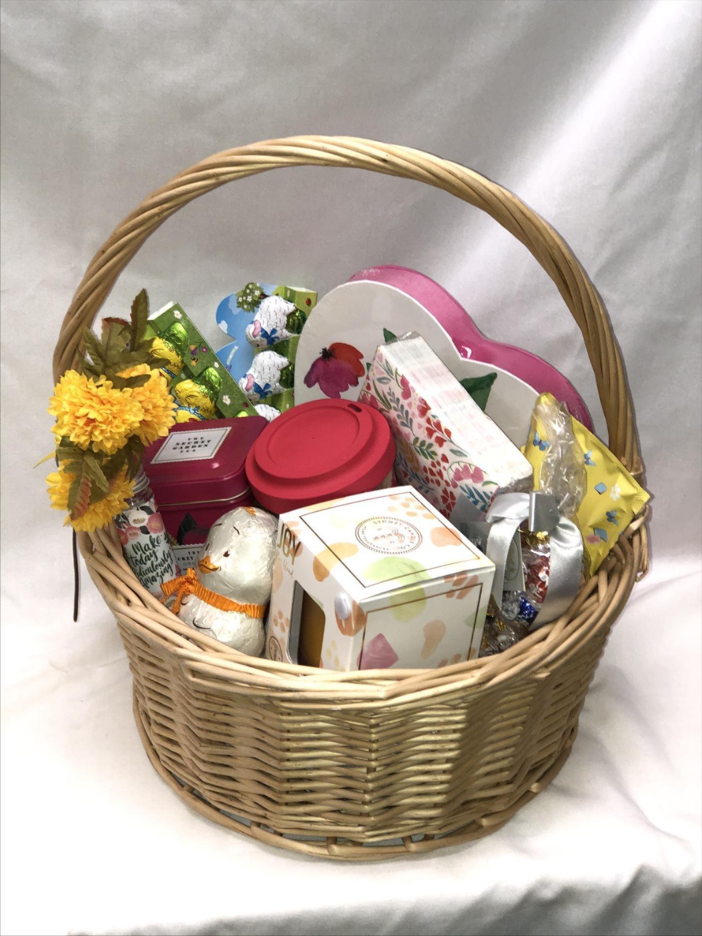 spring raffle basket image