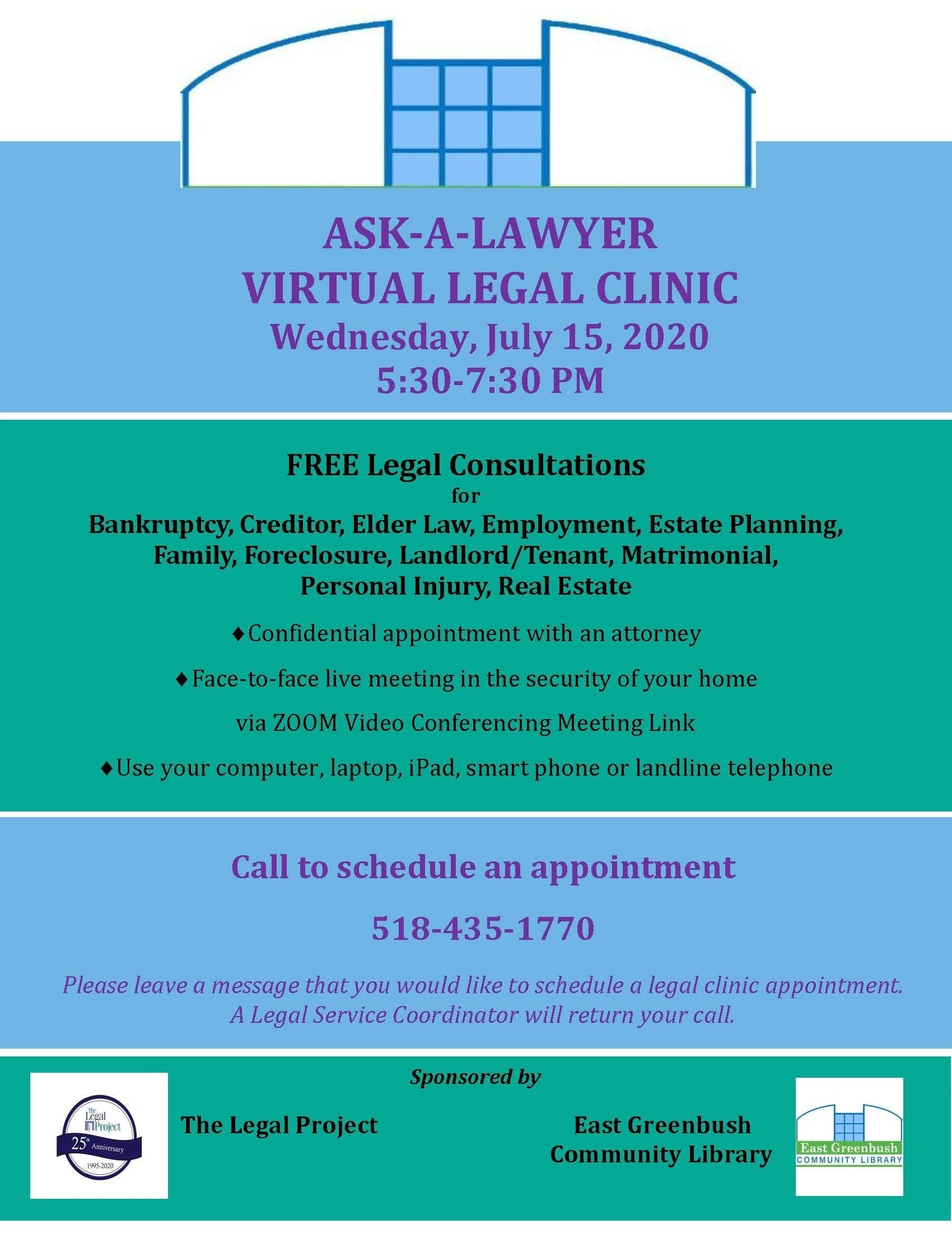 virtual legal clinic Image