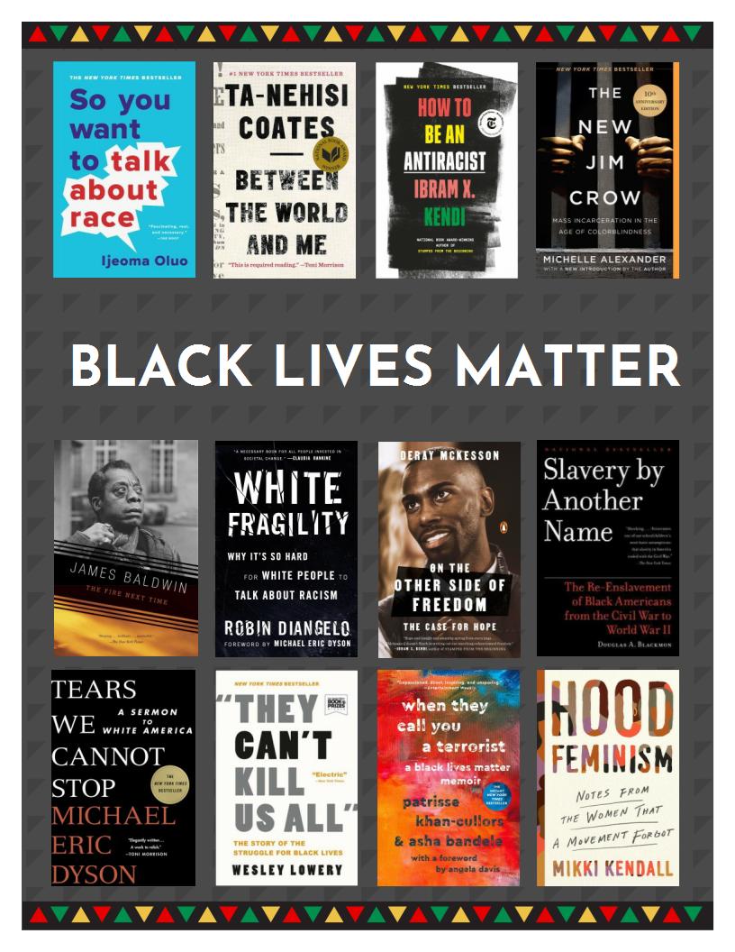 black lives matter reading list