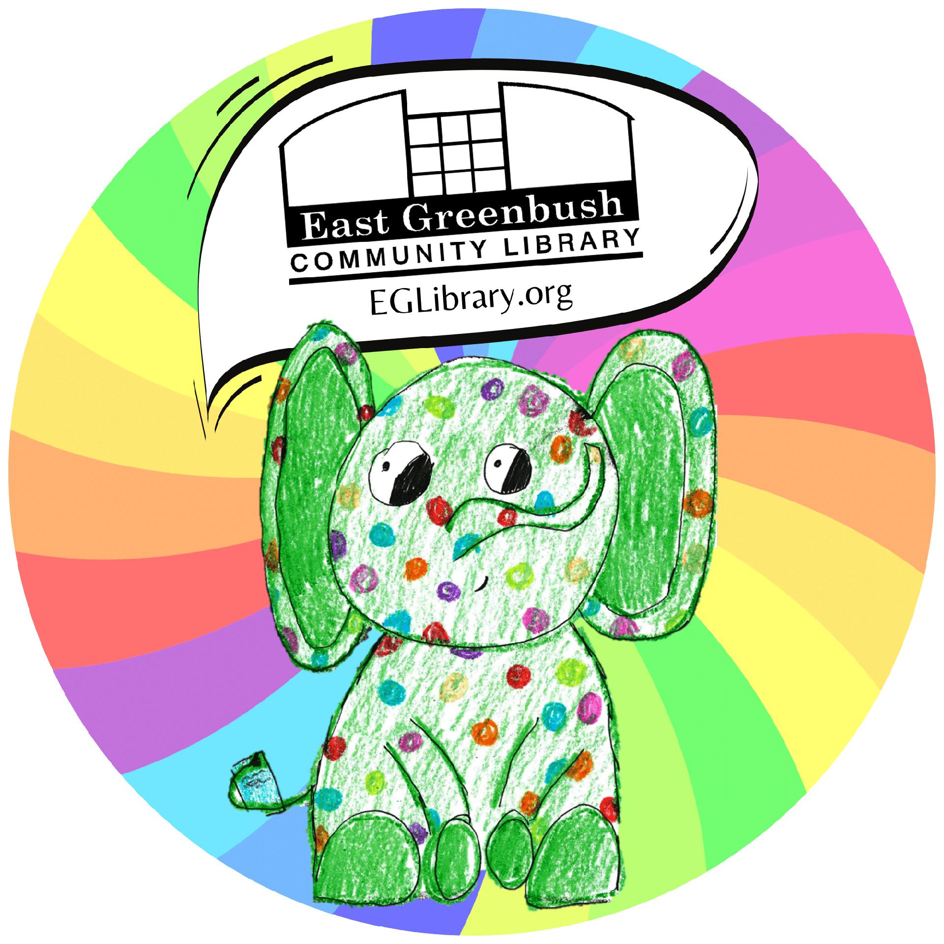 Charlie EG Library mascot