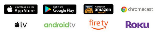logos for hoopla platforms