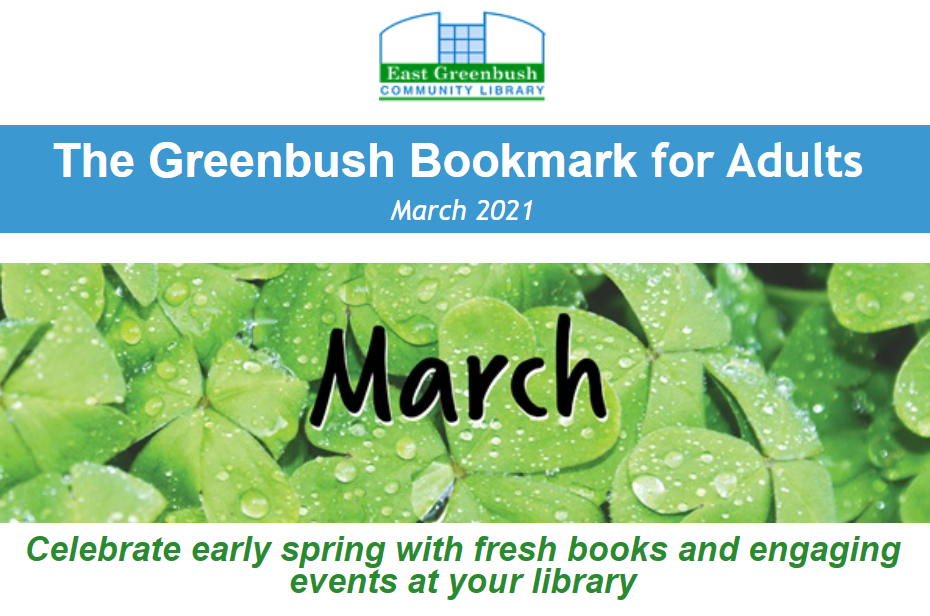 Greenbush bookmark for adults