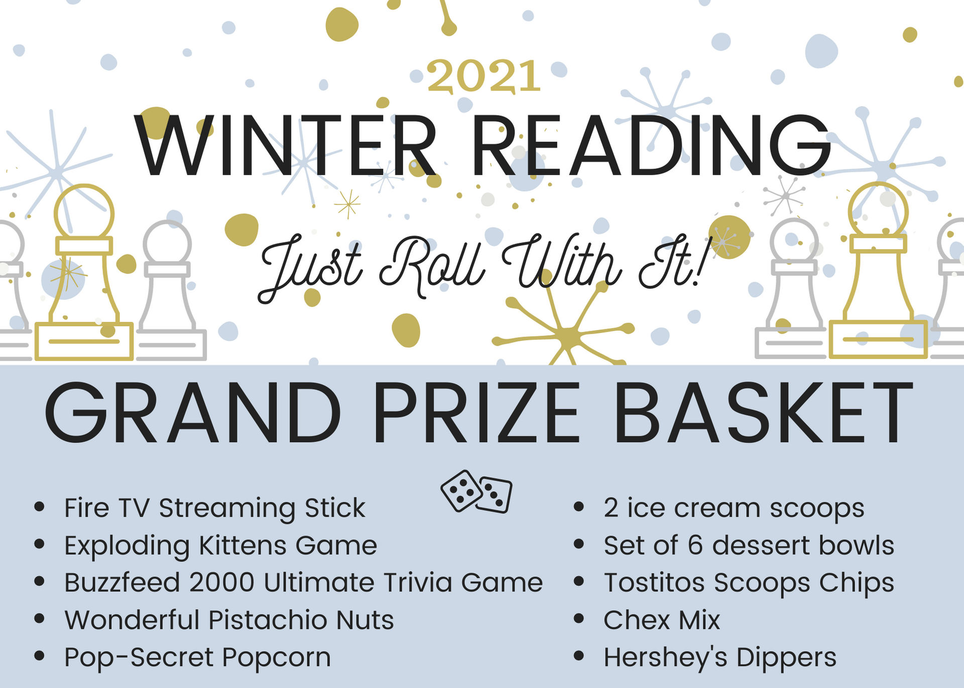 winter reading challenge adult prize image