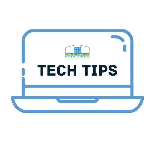 Link to East Greenbush Community Library Tech Tips