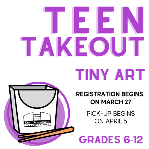 teen takeout craft