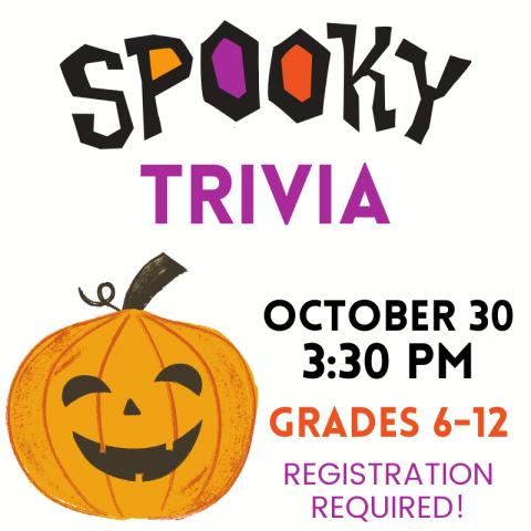 spooky trivia for grades 6-12