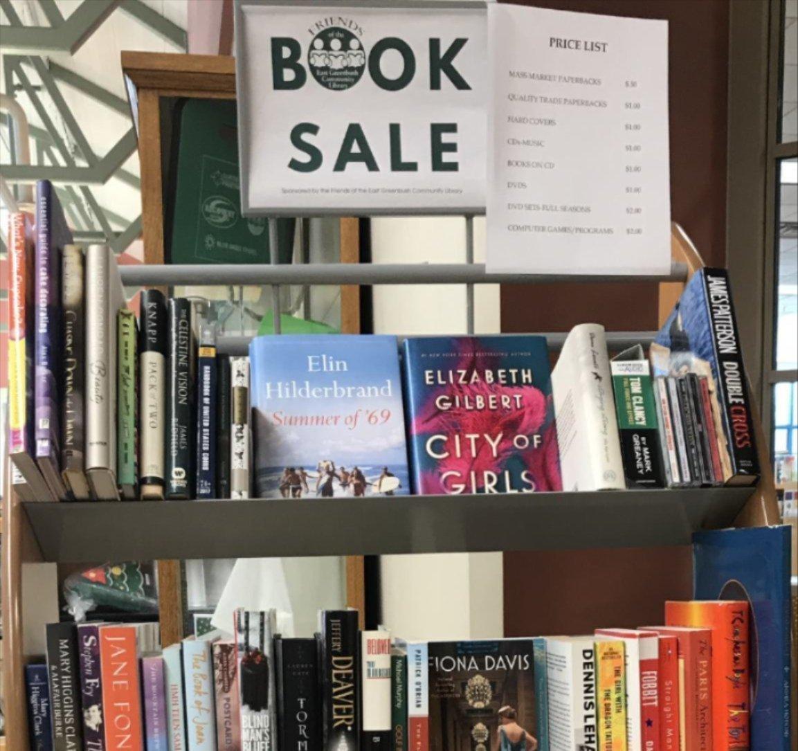 book sale display