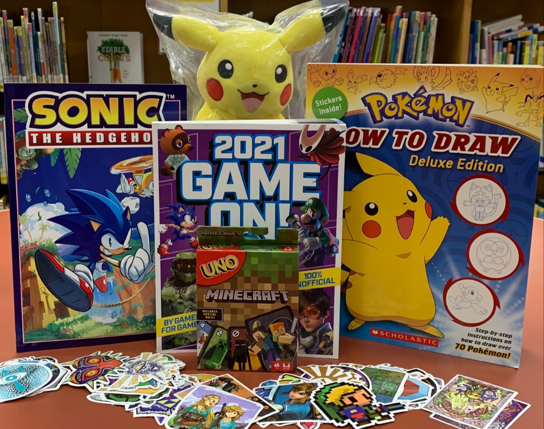 kids & teen winter reading challenge - video game prize