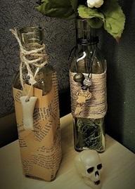 artful bottle craft project