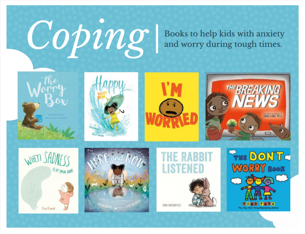 books for kids with anxiety and worry