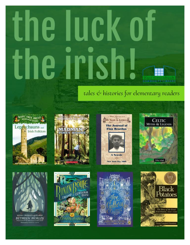 image of Irish books for elementary readers