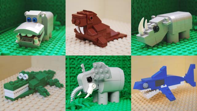 Image of lego animals