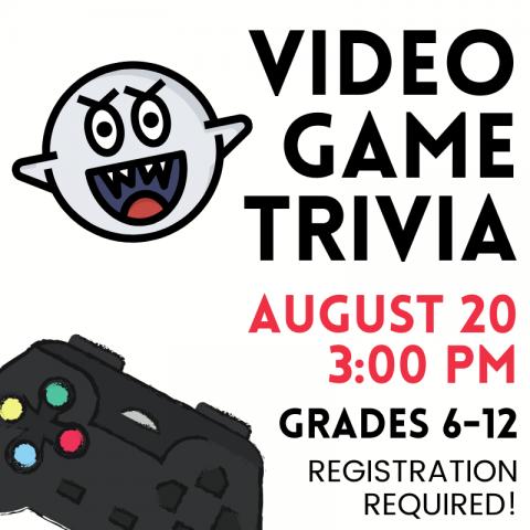 video game trivia Image